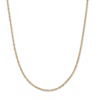 Related Item 14k Yellow Gold Rope Chain Necklace 18