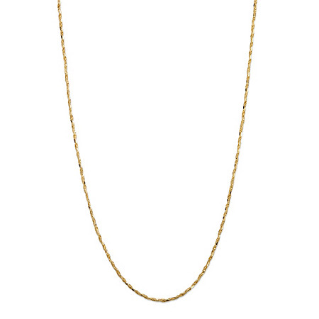 Rope-Link Chain Necklace in 14k Yellow Gold 24
