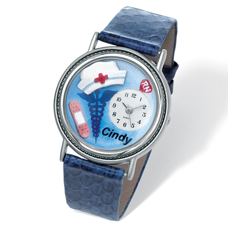 "Personalized Nurse Watch 7"" at PalmBeach Jewelry"