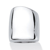 SETA JEWELRY Sterling Silver Free-Form Square Ring
