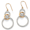 Related Item Diamond Accent 14k Gold Diamond Fascination Eternity Drop Earrings