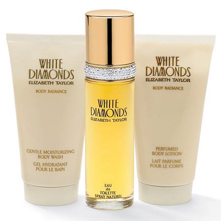 Elizabeth Taylor 3-Piece White Diamonds Fragrance Gift Set at PalmBeach Jewelry