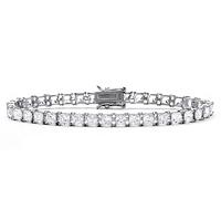 Princess-Cut Cubic Zirconia Tennis Bracelet In Sterling Silver ONLY $72.99