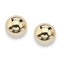 SETA JEWELRY 10k Yellow Gold Ball Stud Earrings 4 mm
