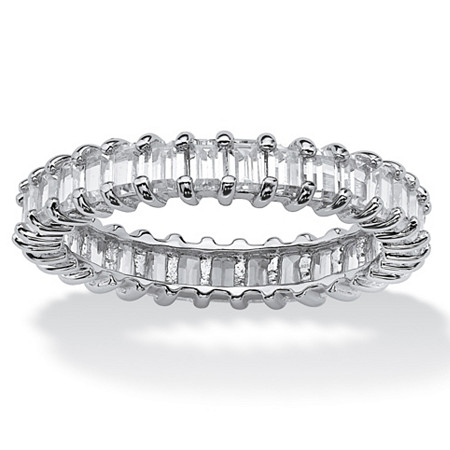 platinum j for jewelry ring diamond tapered sale eternity id rings baguette l at band bands