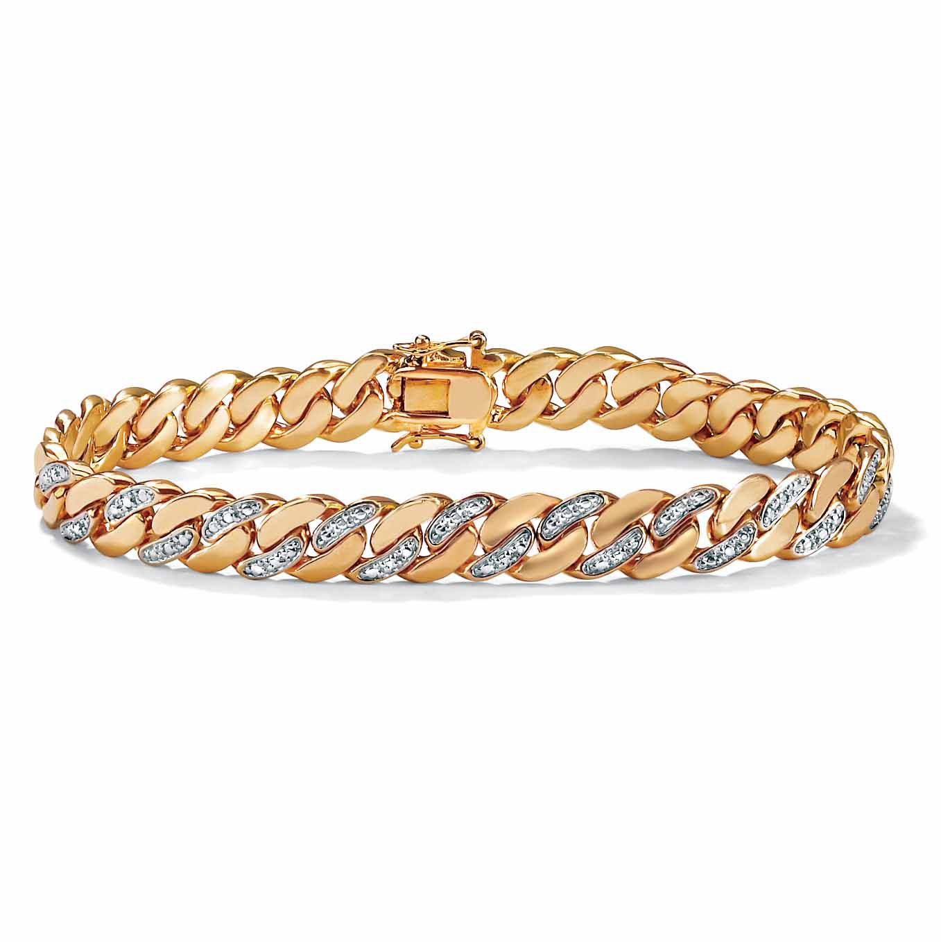 gold collections large bracelet sachi bracelets c diamond jewelry yellow disc