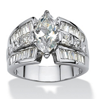 Cubic Zirconia Engagement Anniversary Ring ONLY 19.95