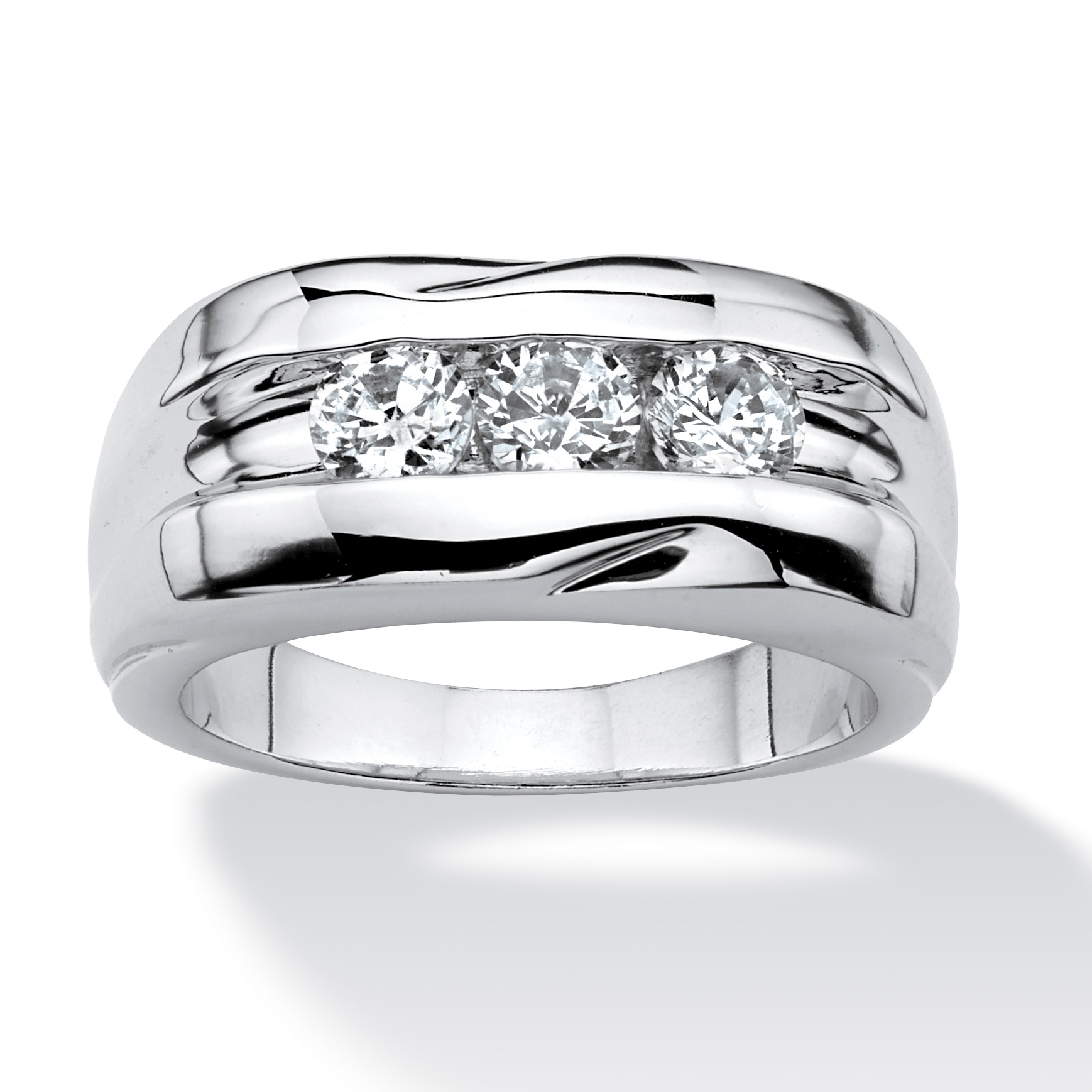 Zirconia Mens Rings 55