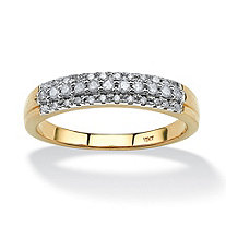 SETA JEWELRY 1/4 TCW Round Diamond Ring in 10k Gold