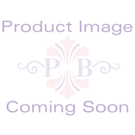 18.65 TCW Round Cubic Zirconia Scroll Bib Necklace Platinum-Plated 18