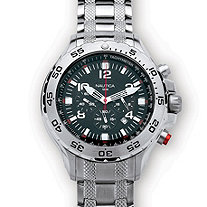 Men's Nautica Water-Resistant Watch in Stainless Steel 8