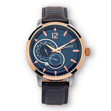 Men's Nautica Water-Resistant Watch in Stainless Steel 8
