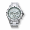 Related Item Men's Invicta Multi-Dial Chronograph Watch with Silver Face in Stainless Steel 9