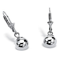 SETA JEWELRY Ball Drop Earrings in Sterling Silver