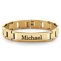 Men's Personalized ID Bracelet