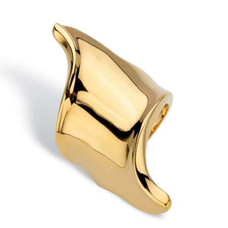 Free-Form 18k Gold-Plated Ring at PalmBeach Jewelry