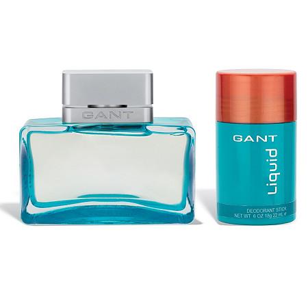 Gant Liquid 2-Piece Travel Size Gift Set for Men by Elizabeth Arden 1.7 oz EDT and Deodorant Stick at PalmBeach Jewelry