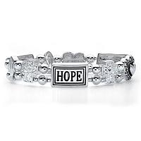 "Inspirational Beaded ""HOPE"" Stretch Bracelet ONLY $6.95"