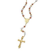 Beaded Rosary-Style Necklace 20