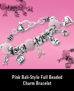 Bali Style Full Beaded Charm Bracelet
