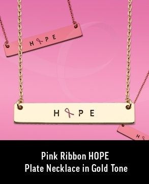 Hope Plate Necklace