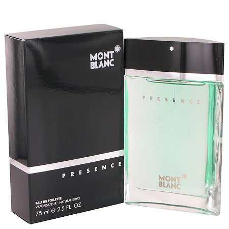 Presence by Mont Blanc for Men Eau De Toilette Spray 2.5 oz at PalmBeach Jewelry