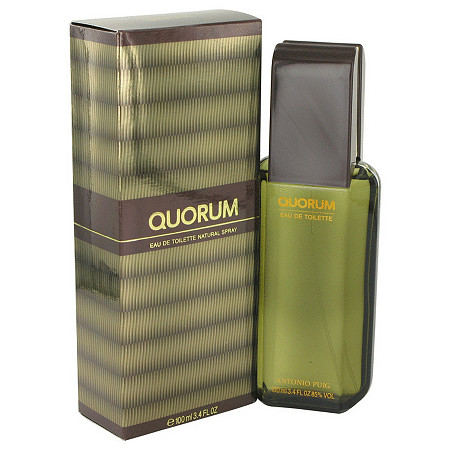 QUORUM by Antonio Puig for Men Eau De Toilette Spray 3.4 oz at PalmBeach Jewelry