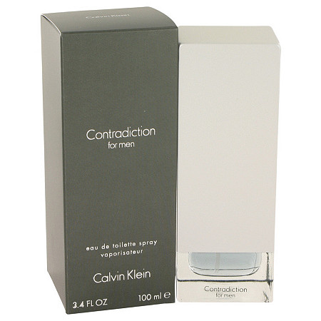 CONTRADICTION by Calvin Klein for Men Eau De Toilette Spray 3.4 oz at PalmBeach Jewelry