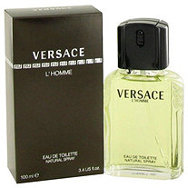 VERSACE L'HOMME by Versace for Men Eau De Toilette Spray 3.4 oz