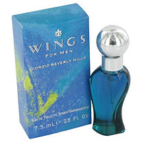 WINGS by Giorgio Beverly Hills for Men Mini EDT .25 oz