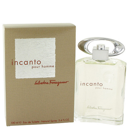 Incanto by Salvatore Ferragamo for Men Eau De Toilette Spray 3.4 oz at PalmBeach Jewelry