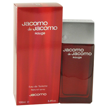 JACOMO DE JACOMO ROUGE by Jacomo for Men Eau De Toilette Spray 3.4 oz at PalmBeach Jewelry