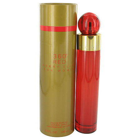 Perry Ellis 360 Red by Perry Ellis for Women Eau De Parfum Spray 3.4 oz at PalmBeach Jewelry