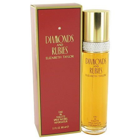DIAMONDS & RUBIES by Elizabeth Taylor for Women Eau De Toilette Spray 3.4 oz at PalmBeach Jewelry