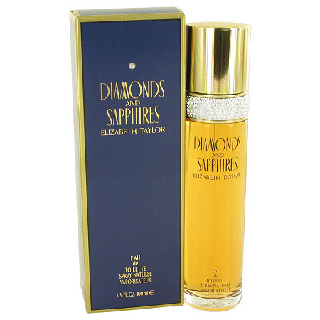 DIAMONDS & SAPHIRES by Elizabeth Taylor for Women Eau De Toilette Spray 3.4 oz at PalmBeach Jewelry