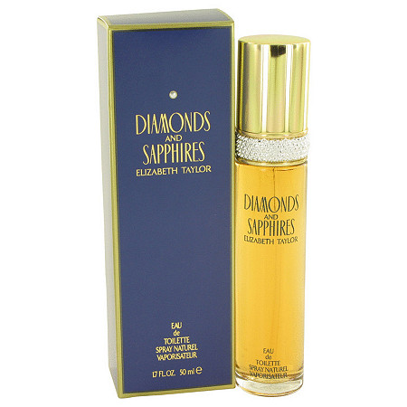 DIAMONDS & SAPHIRES by Elizabeth Taylor for Women Eau De Toilette Spray 1.7 oz at PalmBeach Jewelry