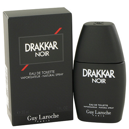 DRAKKAR NOIR by Guy Laroche for Men Eau De Toilette Spray 1 oz at PalmBeach Jewelry