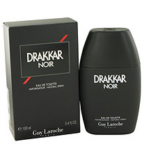 Drakkar Noir by Guy Laroche for Men Eau de Toilette Spray 3.4 oz.