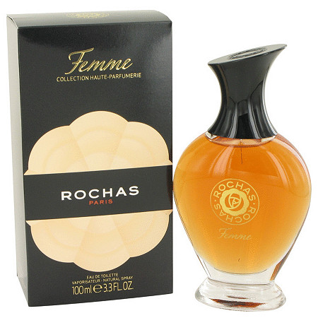 FEMME ROCHAS by Rochas for Women Eau De Toilette Spray 3.4 oz at PalmBeach Jewelry