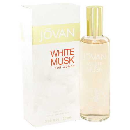 JOVAN WHITE MUSK by Jovan for Women Eau De Cologne Spray 3.2 oz at PalmBeach Jewelry