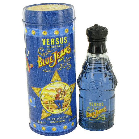 BLUE JEANS by Versace for Men Eau De Toilette Spray 2.5 oz at PalmBeach Jewelry