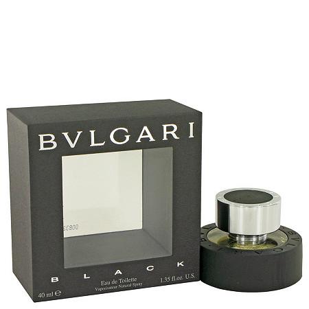 BVLGARI BLACK (Bulgari) by Bulgari for Men Eau De Toilette Spray 1.3 oz at PalmBeach Jewelry