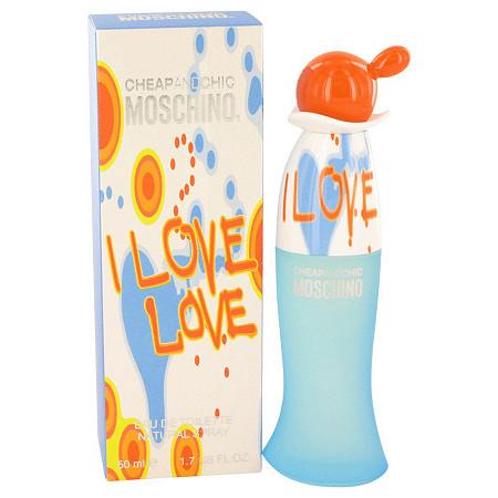 I Love Love by Moschino for Women Eau De Toilette Spray 1.7 oz at PalmBeach Jewelry