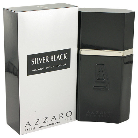 Silver Black by Loris Azzaro for Men Eau De Toilette Spray 3.4 oz at PalmBeach Jewelry
