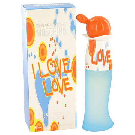 I Love Love by Moschino for Women Eau De Toilette Spray 1 oz at PalmBeach Jewelry