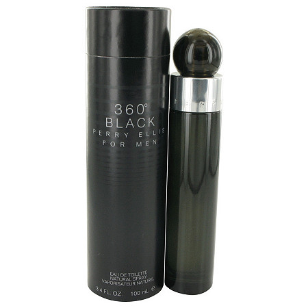Perry Ellis 360 Black by Perry Ellis for Men Eau De Toilette Spray 3.4 oz at PalmBeach Jewelry