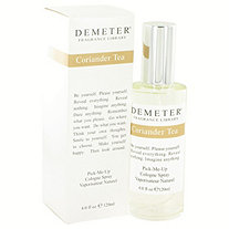 Demeter by Demeter for Women Coriander Tea Cologne Spray 4 oz
