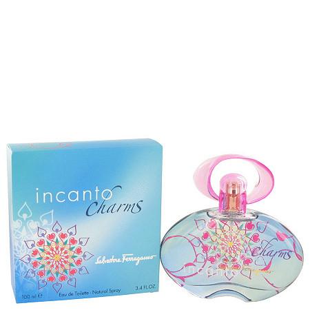 Incanto Charms by Salvatore Ferragamo for Women Eau De Toilette Spray 3.4 oz at PalmBeach Jewelry