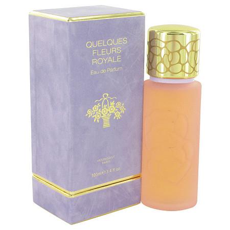 QUELQUES FLEURS Royale by QUELQUES FLEURS for Women Eau De Parfum Spray 3.4 oz at PalmBeach Jewelry