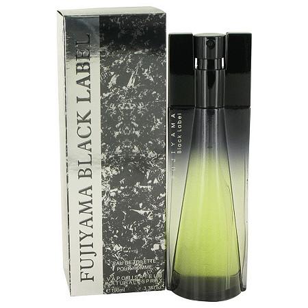 Fujiyama Black Label by Succes De Paris for Men Eau De Toilette Spray 3.4 oz at PalmBeach Jewelry